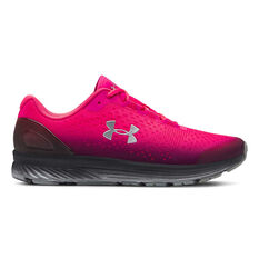Under Armour Charged Bandit 4 Kids Running Shoes Pink / Black US 4, Pink / Black, rebel_hi-res