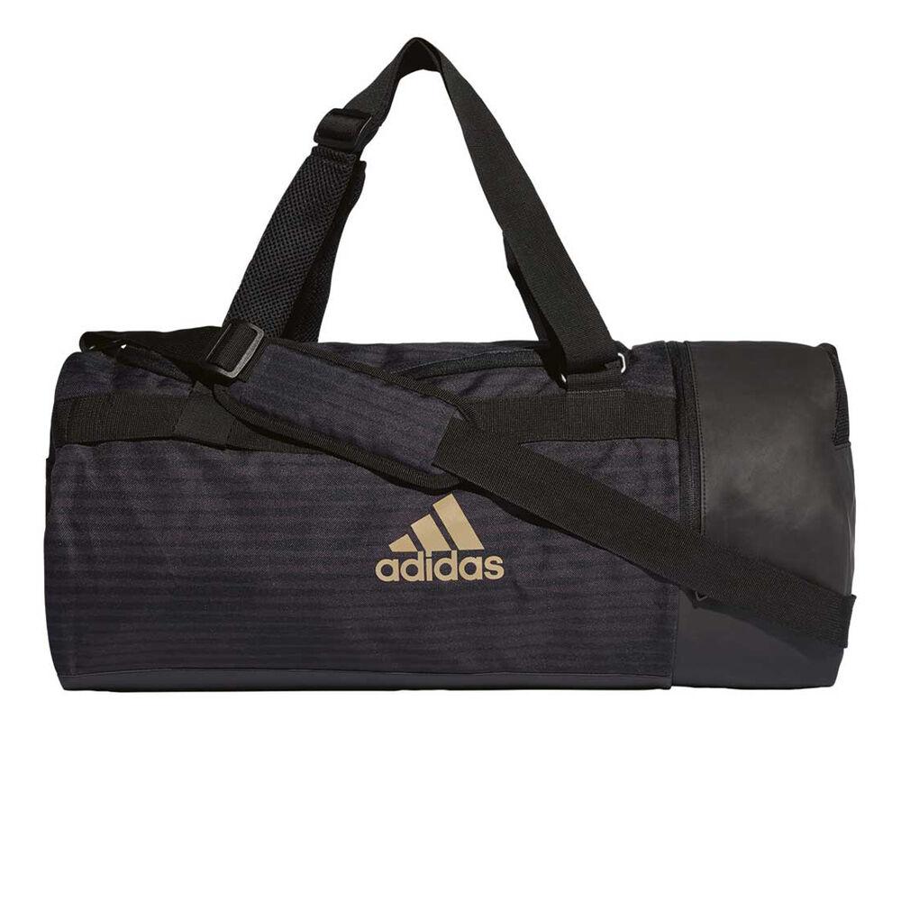 d0a24404b2 adidas Tango Convertible Backpack Duffel Bag Black   Gold