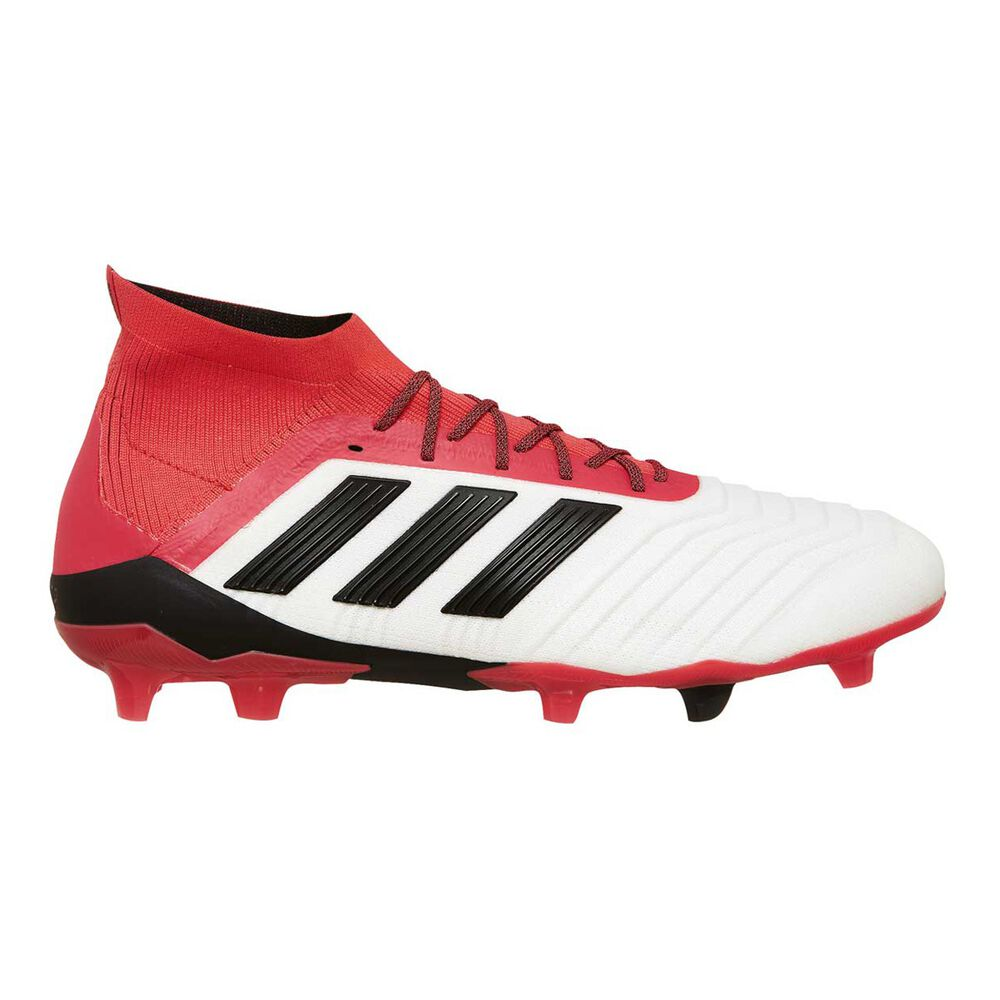 e2acc3e989f0c adidas Predator 18.1 FG Mens Football Boots White   Orange US 10 Adult