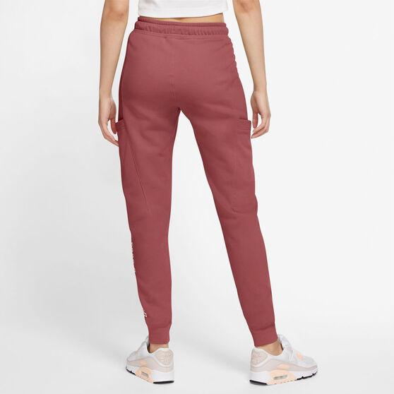 Nike Air Womens Fleece Pants, Pink, rebel_hi-res