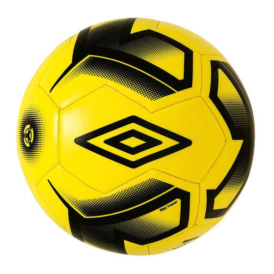 Umbro Neo Team Trainer Soccer Ball Yellow / Black 5, Yellow / Black, rebel_hi-res