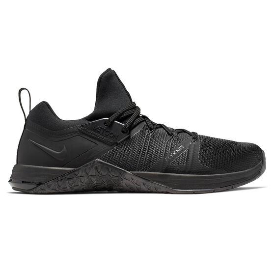 Nike Metcon Flyknit 3 Mens Training Shoes, Black, rebel_hi-res