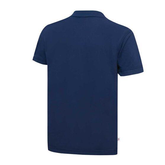 Adelaide Crows Mens Pique Polo Shirt S, , rebel_hi-res