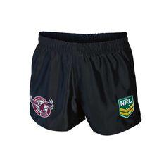 Manly Warringah Sea Eagles Mens Supporter Shorts, , rebel_hi-res