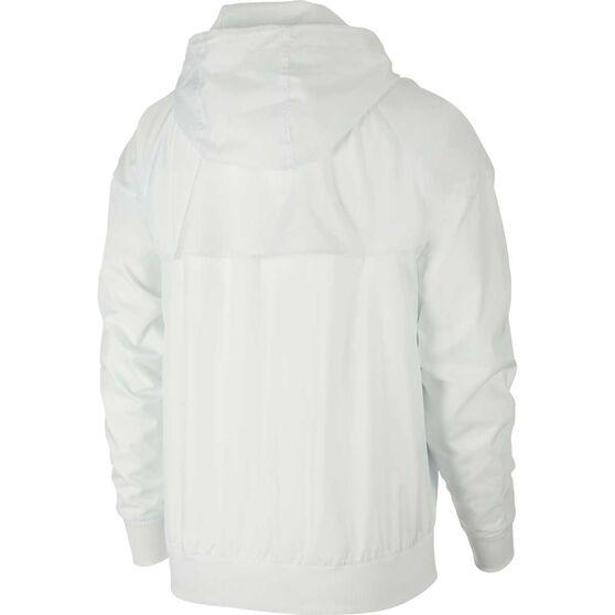 Nike Mens Sportswear Windrunner Hooded Windbreaker, White, rebel_hi-res
