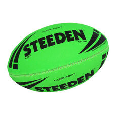 Steeden NRL Fluoro Rugby League Ball, , rebel_hi-res