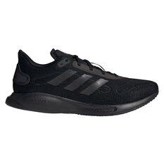 adidas Galaxar Run Mens Running Shoes Black US 7, Black, rebel_hi-res