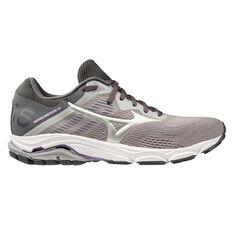 Mizuno Wave Inspire 16 Womens Running Shoes Grey / White US 6, Grey / White, rebel_hi-res