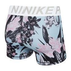 Nike Womens 3in Pro Hyper Femme Shorts Print XS, , rebel_hi-res