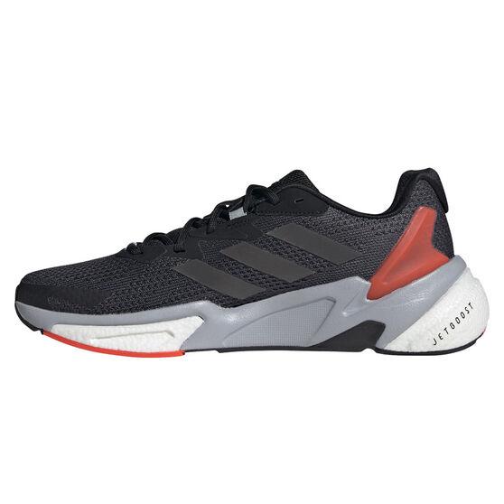 adidas X9000L3 Mens Casual Shoes, Black/Red, rebel_hi-res