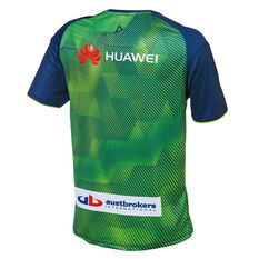Canberra Raiders 2019 Mens Training Tee Green S, Green, rebel_hi-res