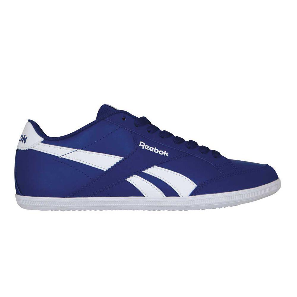 Reebok Royal Transport 5 Mens Casual Shoes Blue   White US 9  3a8b523d2