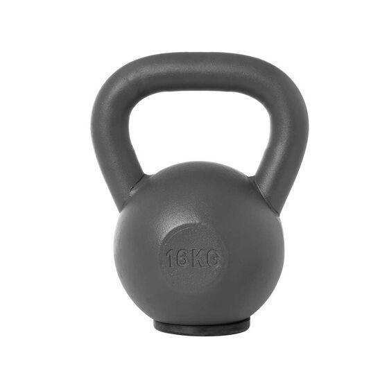 Torros 16kg Cast Iron Kettlebell, , rebel_hi-res