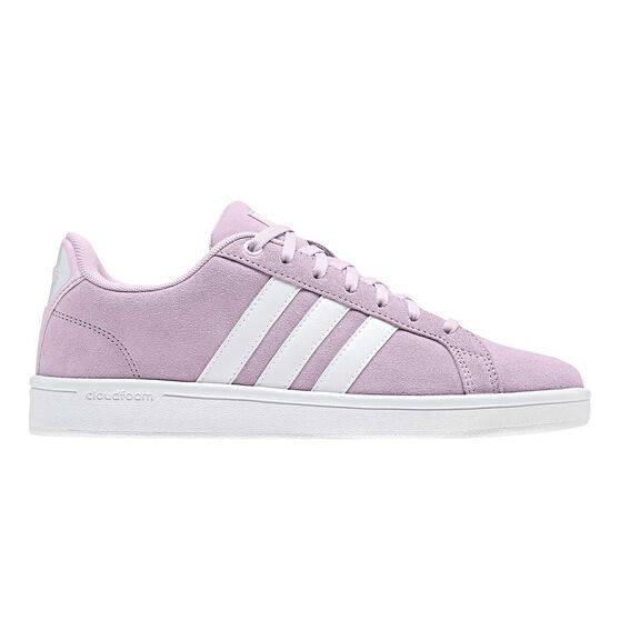 adidas Cloudfoam Advantage Womens Casual Shoes, Pink / White, rebel_hi-res