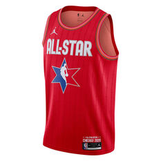 NBA All Star 2020 LeBron James Swingman Jersey, Red, rebel_hi-res