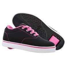 Heelys Launch Girls Shoes Black / Pink US 13, Black / Pink, rebel_hi-res