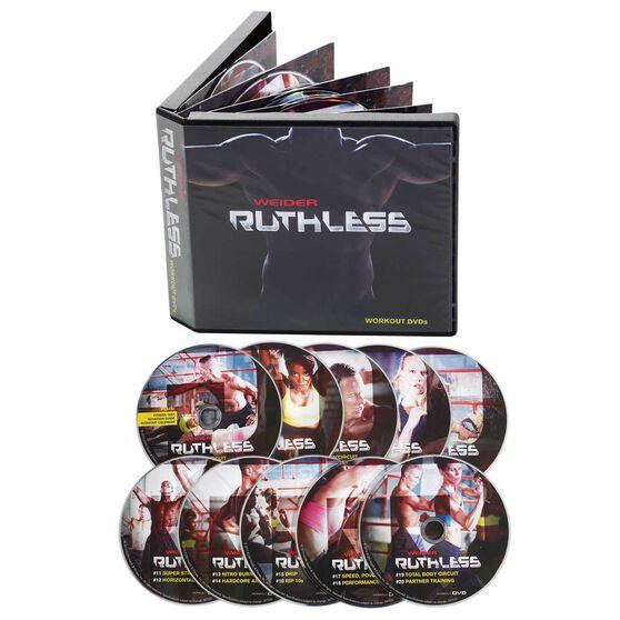 Weider Ruthless Workout DVD Set, , rebel_hi-res