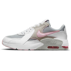 Nike Air Max Excee Kids Casual Shoes White/Pink US 4, White/Pink, rebel_hi-res