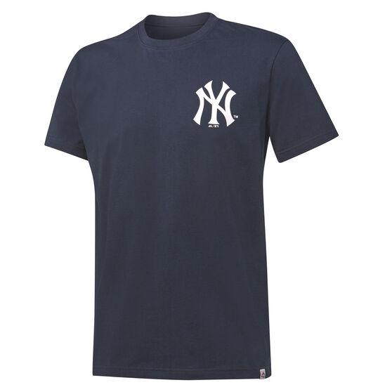 Majestic Mens New York Yankees Lance Tee, Navy, rebel_hi-res