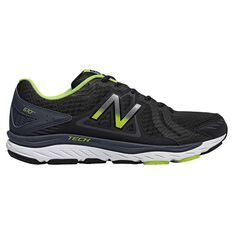 New Balance 670v5 Mens Running Shoes Black / Yellow US 7, Black / Yellow, rebel_hi-res
