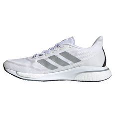 adidas Supernova+ Womens Running Shoes White/Silver US 7, White/Silver, rebel_hi-res