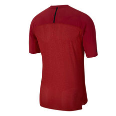 Nike Mens Tech Pack Running Tee Red S, Red, rebel_hi-res