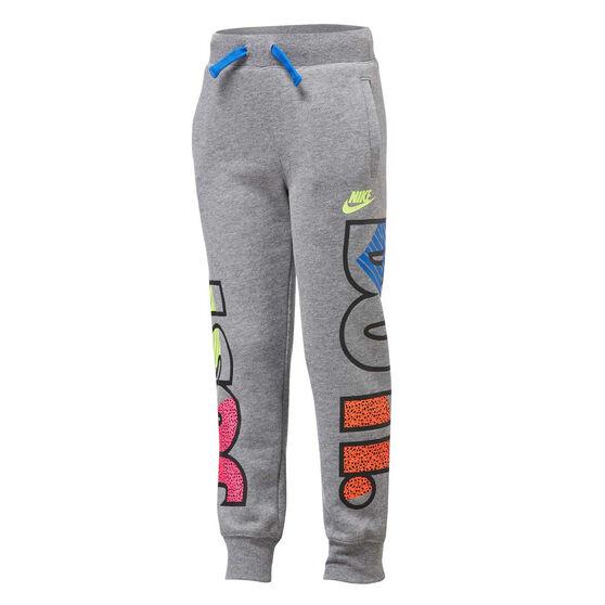 Nike Boys Just Do It Fly Jogger Pants, Grey, rebel_hi-res