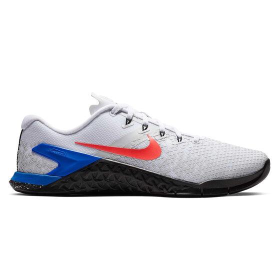 Nike Metcon 4 XD Mens Training Shoes, White / Red, rebel_hi-res