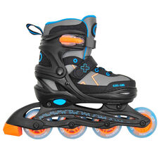 Goldcross GXC185 Inline Skates Blue / Orange 12-2, , rebel_hi-res