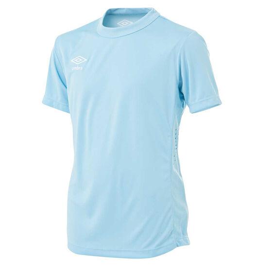Umbro Kids League Knit Jersey, Sky Blue, rebel_hi-res