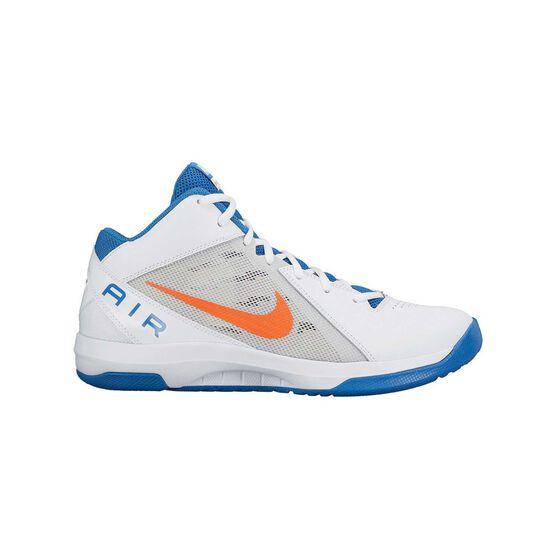 6def377c5b3 Nike Air Overplay IX Mens Basketball Shoes White   Blue US 10 ...