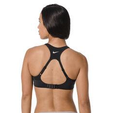 Nike Womens Alpha High Support Sports Bra Black 10C, Black, rebel_hi-res