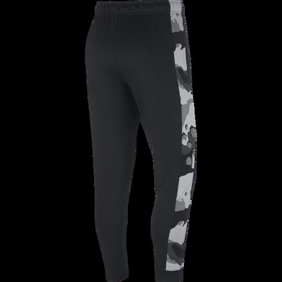 Nike Mens Dri-FIT Tapered Fleece Training Pants, Black, rebel_hi-res
