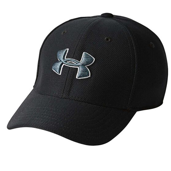 Under Armour Boys Blitzing 3.0 Cap, Black / Grey, rebel_hi-res