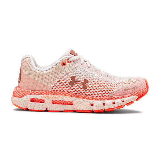 Under Armour HOVR Infinite Mojave Womens Running Shoes, Pink / White, rebel_hi-res