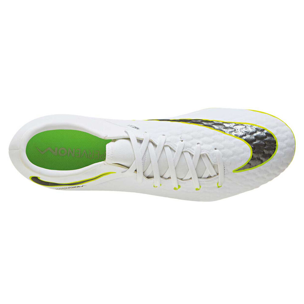38a673720 Nike Hypervenom Phantom III Academy Mens Football Boots White   Grey US 11