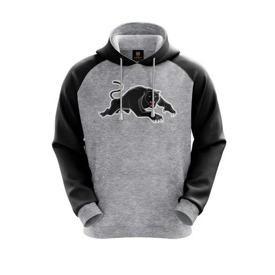 Penrith Panthers 2019 Mens Hoodie, Grey, rebel_hi-res