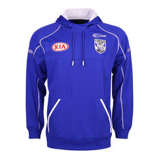 Canterbury-Bankstown Bulldogs 2019 Mens Training Hoodie Blue S, Blue, rebel_hi-res