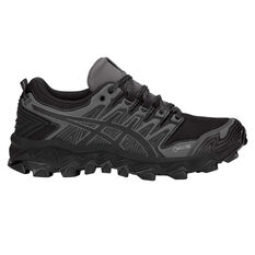 Asics Gel Fuji Trabuco 7 G TX Womens Trail Running Shoes Black / Grey US 6, Black / Grey, rebel_hi-res