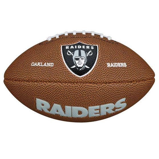 Wilson NFL Mini Oakland Raiders Supporter Ball, , rebel_hi-res