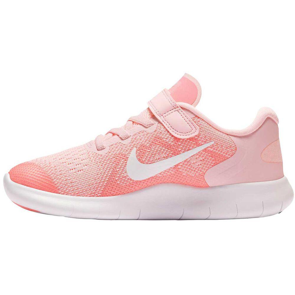 promo code 81e9c 624cf Nike Free Run 2017 Junior Girls Running Shoe Pink   White US 2, Pink