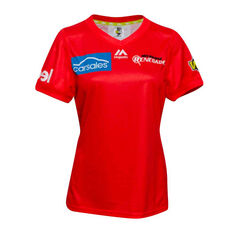 Melbourne Renegades 2019/20 Womens WBBL Onfield Jersey Red 8, Red, rebel_hi-res