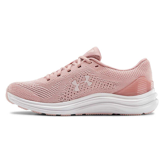 Under Armour Liquify Womens Running Shoes, Pink, rebel_hi-res