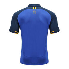 Parramatta Eels 2020 Mens Media Polo Blue S, Blue, rebel_hi-res