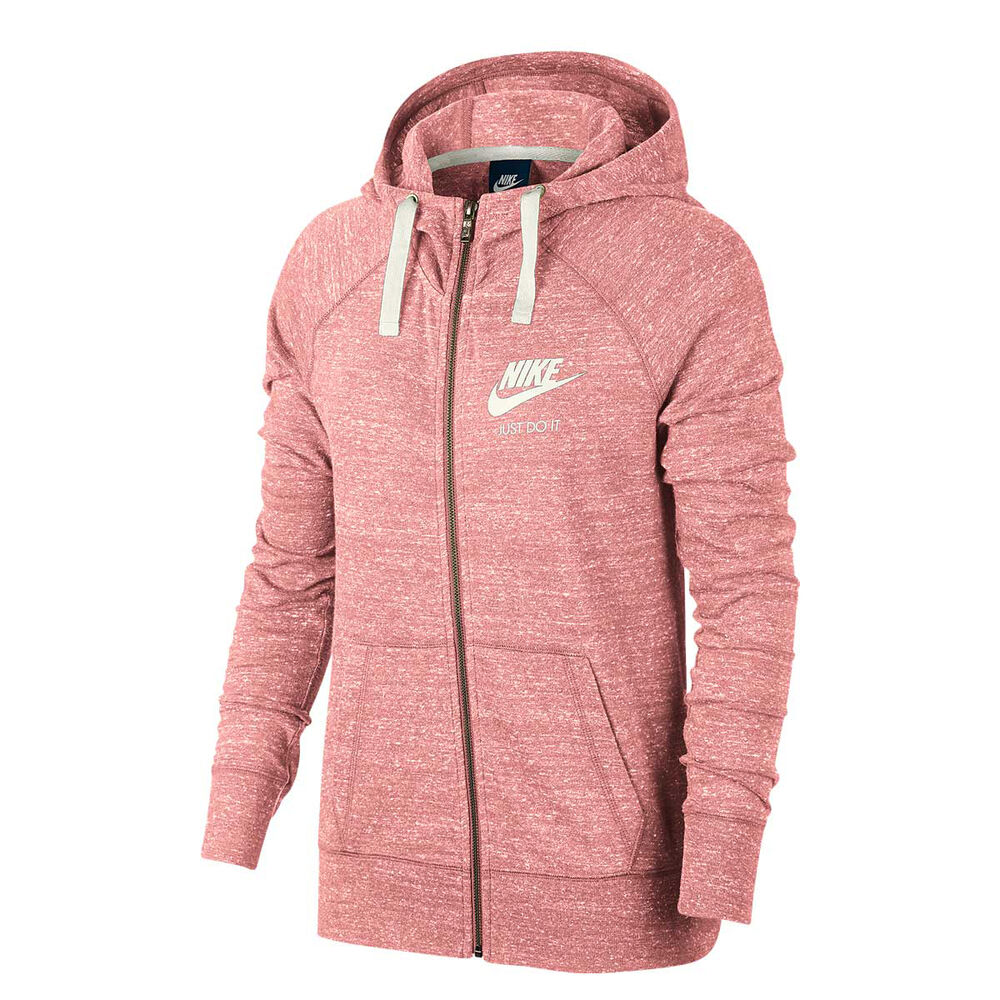 102c13f0f9a Nike Womens Sportswear Vintage Gym Hoodie Coral M