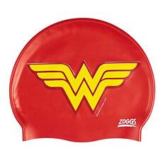 Zoggs Wonder Woman Swim Cap, , rebel_hi-res