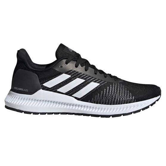 adidas Solar Blaze Womens Running Shoes Black / Grey US 6.5, Black / Grey, rebel_hi-res