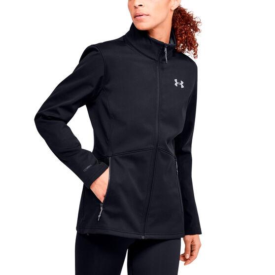 Under Armour Womens ColdGear Infrared Shield Jacket, Black, rebel_hi-res