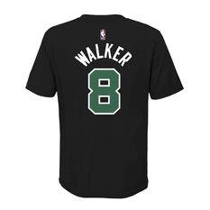 Jordan Boston Celtics Kemba Walker 2020/21 Kids Statement Tee Black S, Black, rebel_hi-res