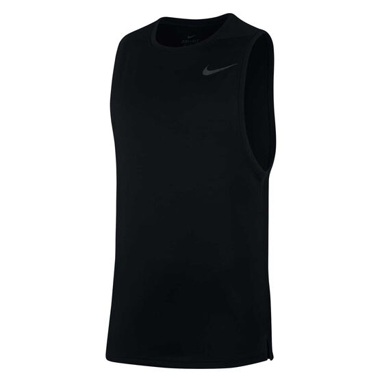 Nike Mens Superset Training Tank, Black, rebel_hi-res